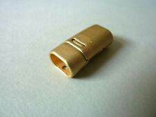 Magnetverschluss Magnetschließe für Lederarmband gold 26 x 10 mm 2050//go