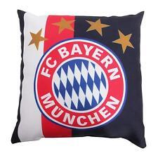 FC Bayern München Kissen Navy 40x40cm Blau/Rot/Weiß