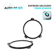 "BMW Series 3 E46 Car Speaker Adapter Adaptor  Rings 165mm 16cm 6.5"" Front Doors"