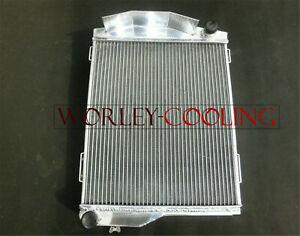 Aluminum Radiator For AUSTIN HEALEY 3000 1959-1967 Manual 3 Core 62 63 64 65 66