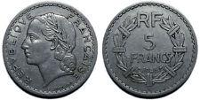 5 Francs Lavrillier 1946 C, aluminium
