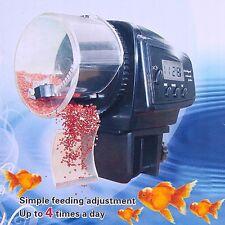 Auto Adjustable Automatic Aquarium Fish Feeders LCD Fish Tank Food Feeding Timer