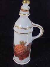 """Vintage France Bh Paris Colored Cruet Or Liquor Bottle 5 1/2"""""""