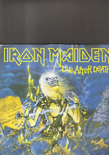 IRON MAIDEN - live after death LP made in ITALY