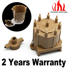 Top! Ignition Distributor Cap Rotor External Coil Brass Terminals For Chevy GMC