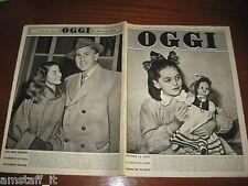 RIVISTA OGGI 1951/16=STEWART GRANGER=ANNA MARIA PIERANGELI=G.NATIONAL LIVERPOOL