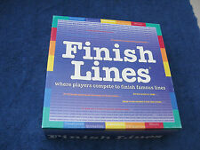 Finish Lines Game -1999 Edition, Where Players Compete To Finish Famous lines!