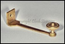 Brass French Clock Bell Stand With Nut Repair Service Tools Parts Replacement