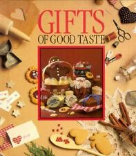 GIFTS OF GOOD TASTE Hardcover Book LEISURE ARTS 1989 Christmas
