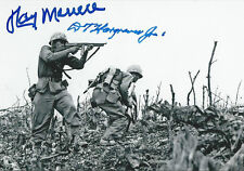 The Pacific signed combo Ray Merrell and D.T. Hargraves WW II COA RARE LOOK!