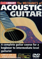 Lick Library Mecánica De Guitarra Acústica Aprende A Tocar Fácil principiante Guitarra Dvd