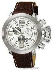 ESPRIT COLLECTION ES-URANOS NIGHT EL900211002 Herrenuhr Leder Chrono NEU