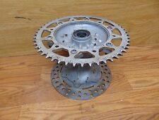 2001 Yamaha YZ125 YZ250 YZ426F YZ450F WR250F WR400F WR426F  Rear Wheel  Hub