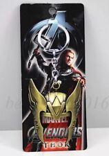 Thor Marvel Avengers Helmet Keychain Gold US Seller