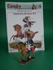 Del Prado Cavalry Napoleonic War, Corporal, British Hussars (#75) w/Osprey Book