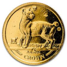 1994 Isle of Man 1/25 oz Gold Japanese Bobtail Cat Bu - Sku #132645