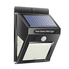 Outdoor Waterproof 30/40LED Solar Power PIR Motion Sensor Garden Lamp Wall Light