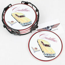 GM 1953 Cadillac Eldorado Coupe Muscle US Car Coaster Set Untersetzer Keramik