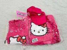 Anti Social Social x Club Hello Kitty Hoodie Shirt Cap Bundle Medium ASSC