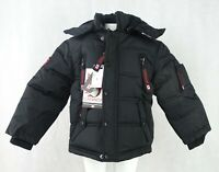 Canada Weather Gear Boys Full-Zip 2-in-1 Vest in Coat System Jacket