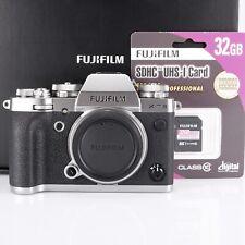 Fujifilm X-T3 Gehäuse silber nur 901 Auslösungen 32 GB sehr guter Zustand
