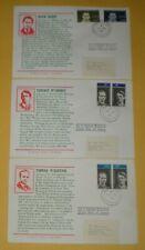 3 IRELAND FDC 284/89, IRISH VOLUNTEERS, CACHETED