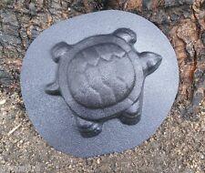 """gostatue Plastic turtle mold plaster concrete  garden mould 6"""" x 4.5' x .75"""""""