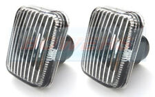CLASSIC MINI LAND ROVER DISCOVERY CLEAR SIDE REPEATERS INDICATOR LIGHTS LENSES