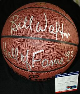 Bill Walton signed basketball, Celtics, UCLA, Trail Blazers, PSA/DNA Z35930