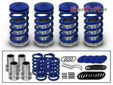 BCP BLUE 92-00 Honda Civic Lowering Coilover Coil Spring Kit