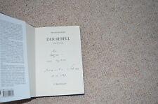 Maximilian Schell signed autógrafo en libro de la rebelde firmado en persona 1997
