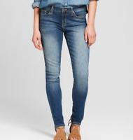 Women's Mid-Rise Skinny Jeans - Universal Thread- Medium Wash- 6 Short-NWT