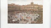 BF23017 salamanca plaza mayor  spain front/back image