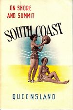 On Shore and Summit South Coast Queensland Australia 1946 Booklet