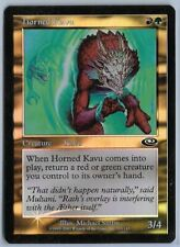 Magic MTG - Horned Kavu (FOIL) - Planeshift - EX