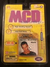 New Unopened 1999 Yaboom MCD music On The Go Ricky Martin Maria Tested