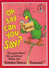 Oh Say Can You Say? DR SEUSS Beginner Book TERRIBLE TONGUE TWISTERS