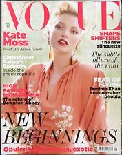 Vogue UK Fashion Style Magazine August 2011 - Kate Moss - Mario Testino