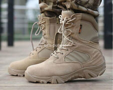 Outdoor Military Tactical Shoes Cordura Desert Combat Army Hiking Ankle Boots