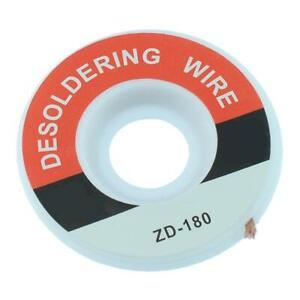 2.5mm Desoldering Wick Braided Flux