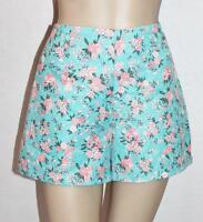 VALLEYGIRL Brand Blue Floral Shorts Size S BNWT #sZ62