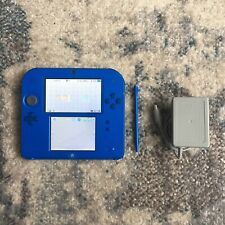 Nintendo 2DS Dual Screen Console Electric Blue w/ OEM Charger & Stylus (Loose)