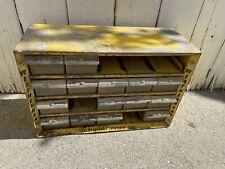 Weatherhead Yellow Metal Storage Cabinet  Drawer