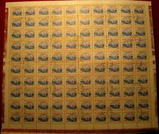 1959 Ice hockey,Eishockey,Sport,Romania,Mi.1804,Complete Sheet x100/VFU