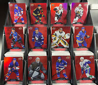 Tim Hortons 2020-21 Red Die-Cut💢U-Pick from List! Complete Set