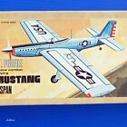 """Midwest Profile Warbird Plans: 48"""" P-51 Mustang for .29 to .40 Engines"""