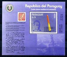 Paraguay 1984 Raumfahrt Space Rakete Schmiedl Rocket Block 401 Postfrisch MNH