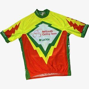 Sugoi BellSouthCycling Team Luckie Fujitsu Cisco Alcoa Mens Bicycle Jersey XXl