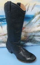 Stetson Riding Boots Black Round Toe Women's US Sz 8