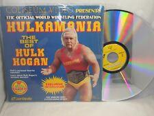 WWF Best Of HULK HOGAN Rare LaserDisc HULKAMANIA Wrestling